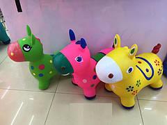 Прыгун резиновый Пони, 3 цвета (30шт)