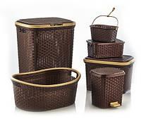 Набор корзин для дома  Irak Plastics RA-100 (6 предметов)