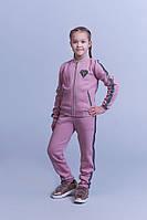 Детский теплый спортивный костюм трикотаж трехнитка штаны+кофта размер:S(122),M (128),L(134),XL(140),XXL(146)