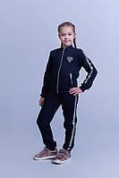 Детский теплый спортивный костюм трикотаж трехнитка штаны+кофта размер:1 (152см), 2 (158см), 3 (164см)