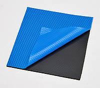 Термопрокладка 3KS 3K600 BK10 0.5мм 100x100 черная 6 Вт/м*К термоинтерфейс для ноутбука (TPr-3K6W-BK10), фото 1