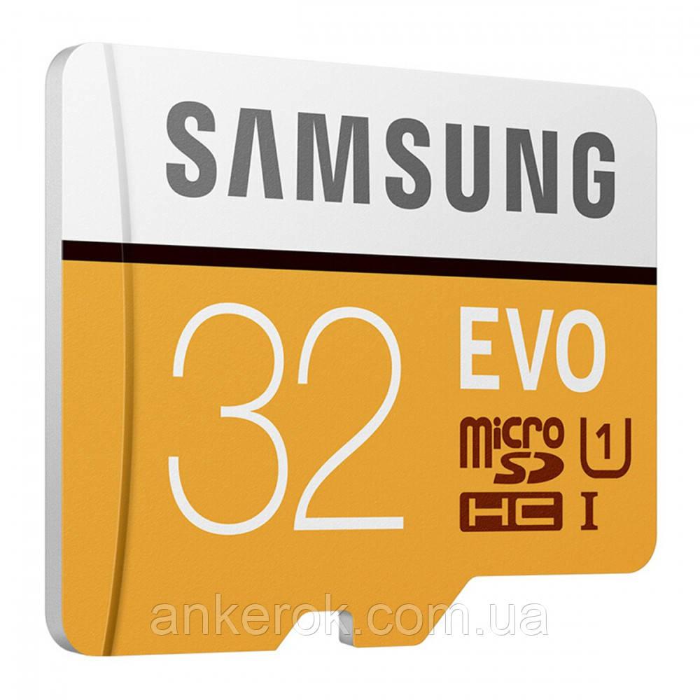 Карта памяти MicroSD Samsung 32GB 10 class EVO PLUS UHS-I