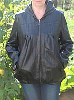 Курточка из кожзама качественная 54-56 р, фото 1