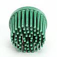 Зачистной круг Bristle с креплением Roloc, зеленый, градация - грубый, диск-щётка 50. 3М , фото 2