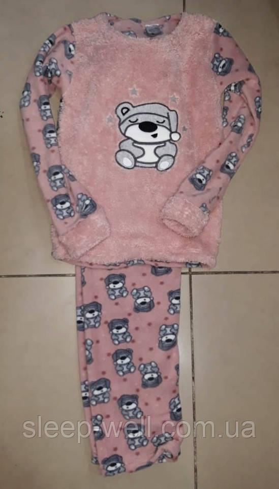 Детская флисовая пижама, велсофт