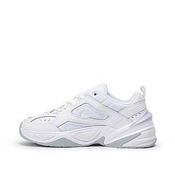 Кроссовки женские Nike Air Monarch M2K Tekno White Platinum Белые