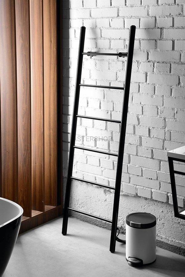 Электрический полотенцесушитель-лестница Primavera 1600*500 мм, Black