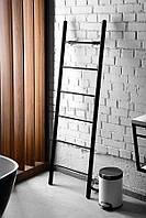 Электрический полотенцесушитель-лестница Primavera 1600*500 мм, Black, фото 1
