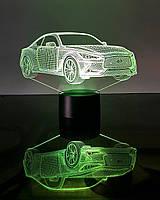 """Детский ночник - светильник """"Автомобиль 21"""" 3DTOYSLAMP, фото 1"""