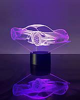 """Детский ночник - светильник """"Автомобиль 34"""" 3DTOYSLAMP, фото 1"""