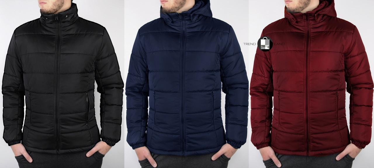 80b7f6c572a Мужская зимняя куртка на флисе 3 цвета в наличии - Интернет-магазин