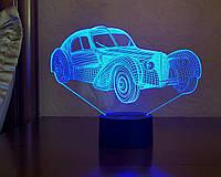 """Детский ночник - светильник """" Автомобиль 35 """" 3DTOYSLAMP, фото 1"""