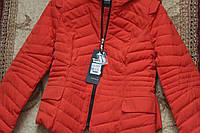 Курточка теплая демисезонная оранжевая 44-46, фото 1