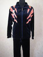 Спортивный велюровый  костюм  большой №127