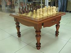 Стол шахматный из дерева