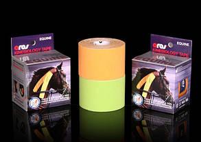Кинезио тейп для тварин Ares Equine 5 cm X 5 m (neon orange), фото 2