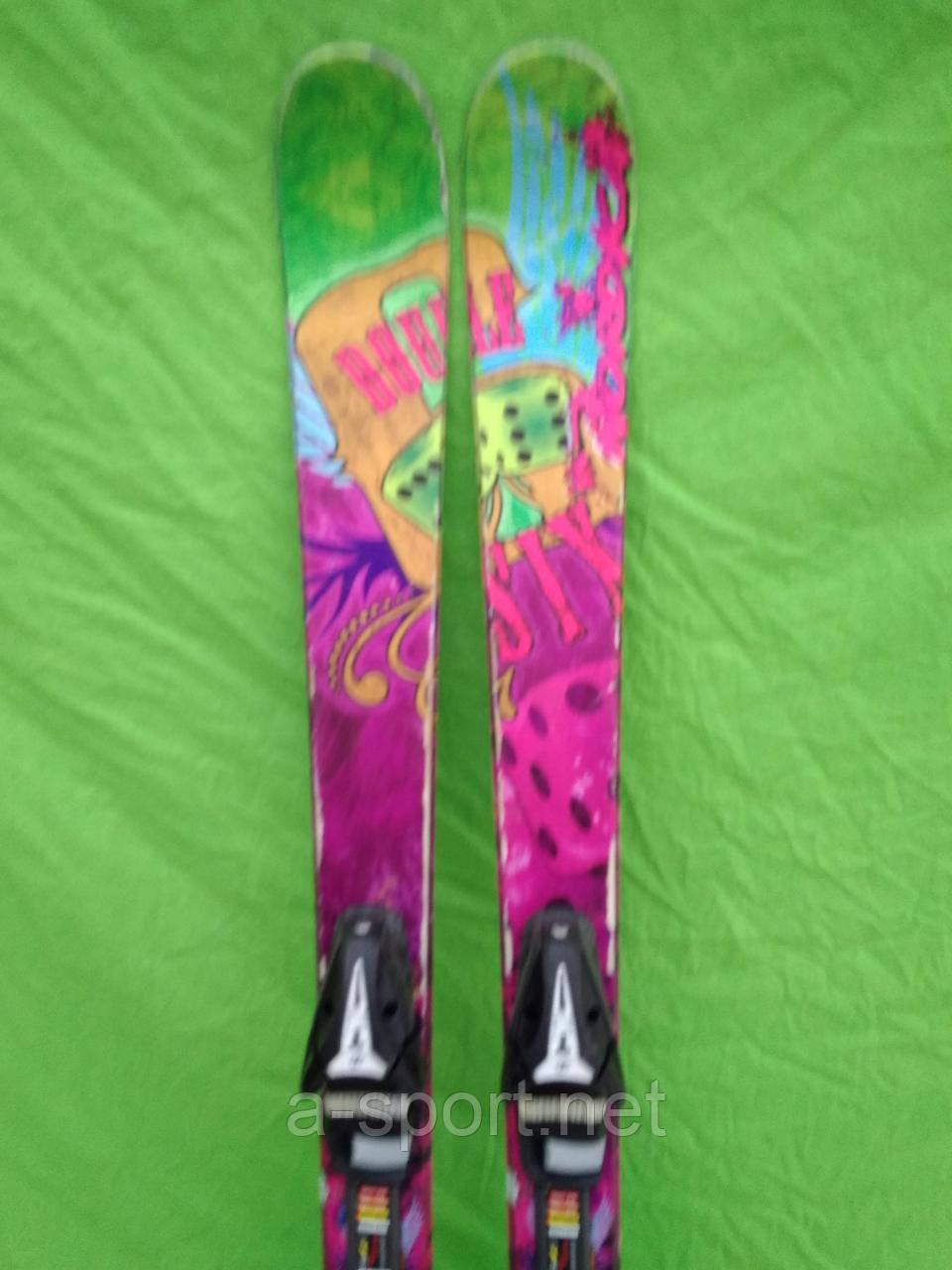 Atomic Nordica Double stx 156 см гірські лижі, фрістайл, твін-тіп