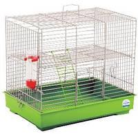 """Клетка для мелких декоративных грызунов """"Микки"""" с лесенкой  37*25*30, белая"""