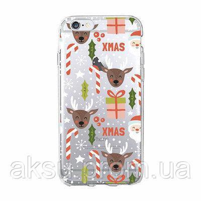 Чехолнакладка xCaseнаiPhone 7 Plus/8 PlusNew Year №13