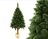 Искусственная елка на натуральном стволе 220 см