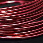 Алюминиевая Проволока 1.5мм/6м, Цвет: Красный, Толщина 1.5мм, около 6м/моток, (УТ0000019016)