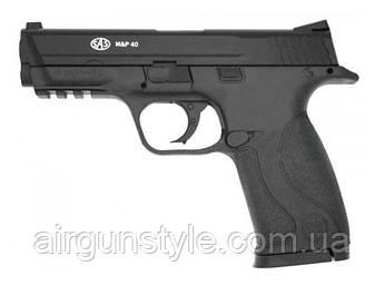 Пистолет пневматический SAS MP-40 (Smith&Wesson) [KM-48HN]