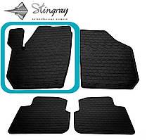 Skoda Roomster  2006- Водительский коврик Черный в салон