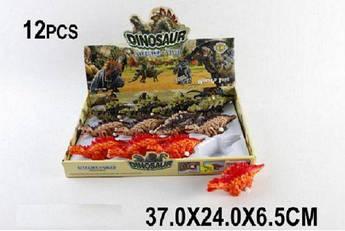 Заводные динозавры (12 штук)