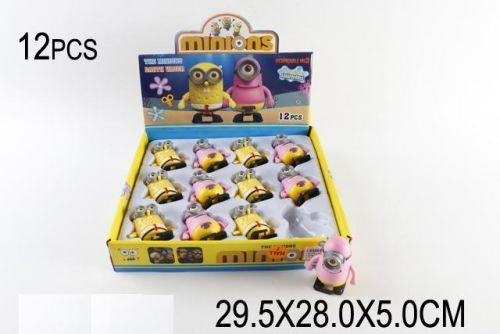 """Набор заводных игрушек """"Миньйоны"""" (12 штук) 0886"""