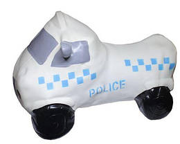 """Прыгун """"Полицейская машина"""" (белая)"""