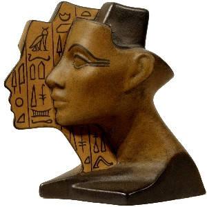 Статуэтка керамическая 1/2 Нефертити