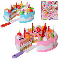 "Продукты на липучке, набор ""Торт"", торт на липучке, 2 цвета,TY7017B-P"