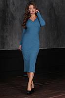 Платье облегающее в расцветках  26193, фото 1