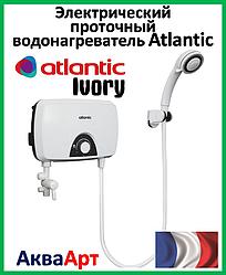 Безнапорный проточный бойлер Atlantic Ivory IV202 SB 5.5 kW (скоба/лейка/шланг)