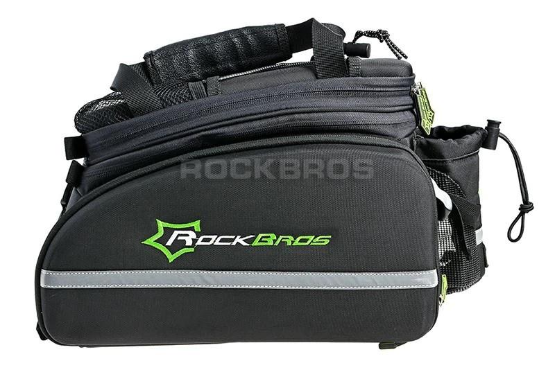 Велосумка на багажник RockBros чорна