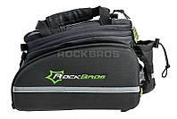 Велосумка на багажник RockBros черная , фото 1