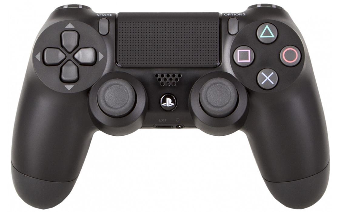Геймпад джойстик беспроводной Sony PS4 Dualshock 4 V2 Black. Оригинал