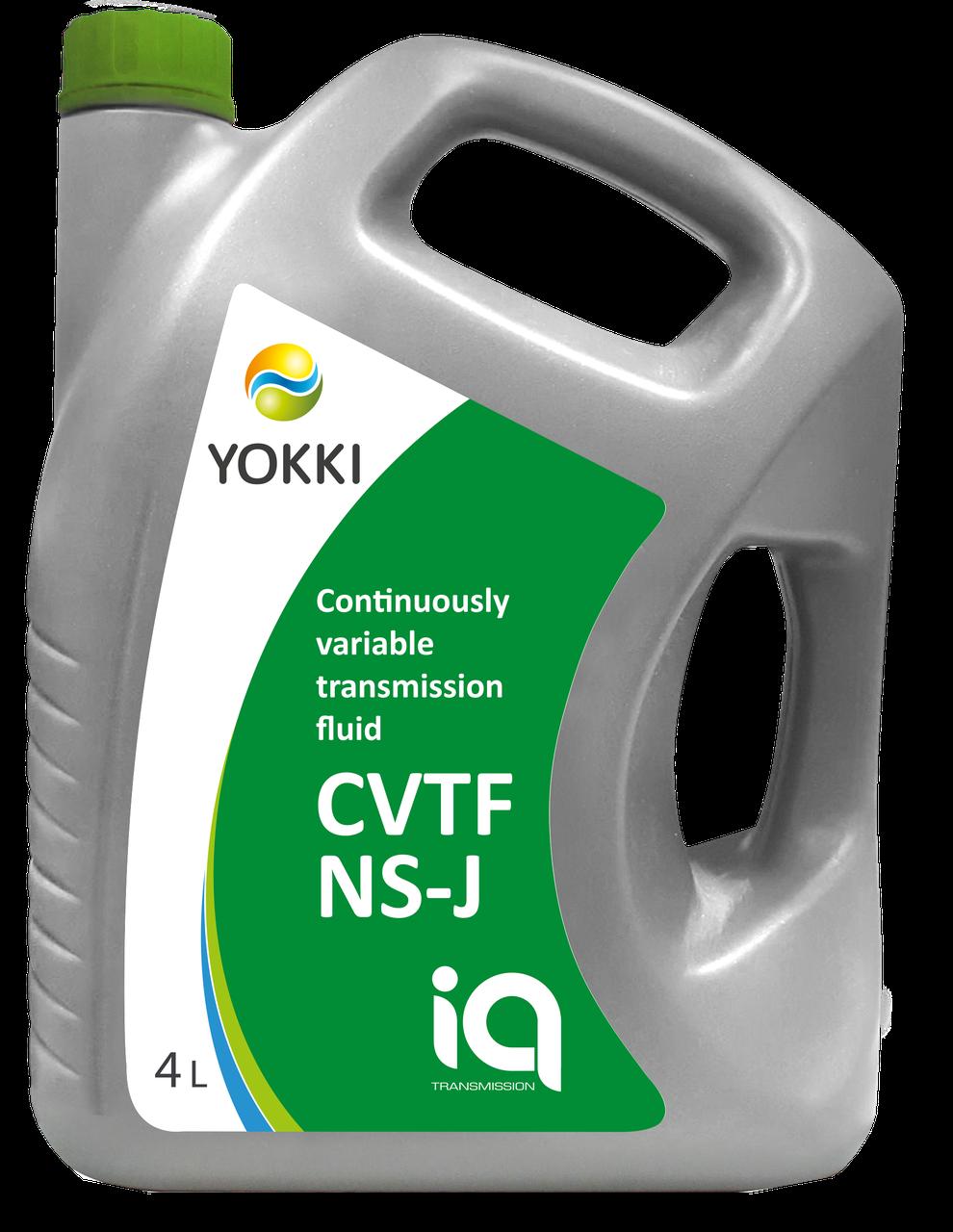 Рідина для варіатора YOKKI IQ CVT NS-J 4 л