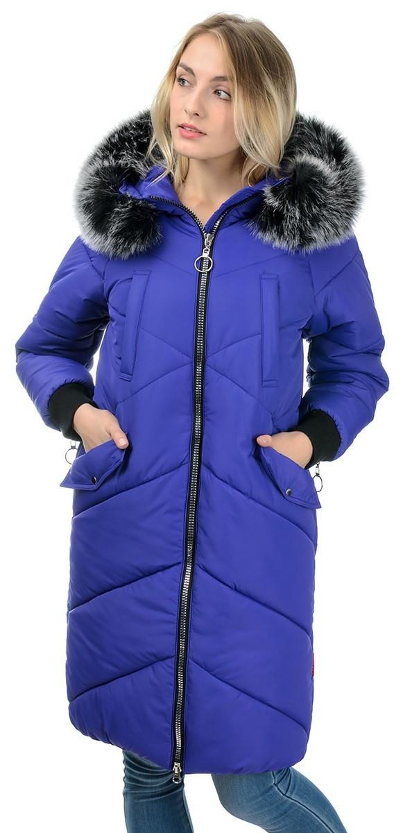 Стильное зимнее пальто из качественных материалов