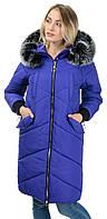 Стильное зимнее пальто из качественных материалов, фото 1