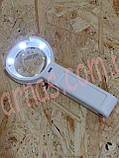 Лупа трансформер з підсвічуванням FS55RC, фото 4