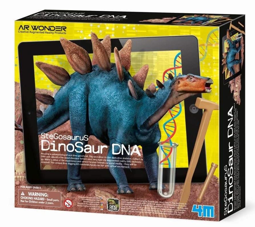 """Набор раскопки ДНК динозавра """"Стегозавр"""" 4M (00-07004)"""