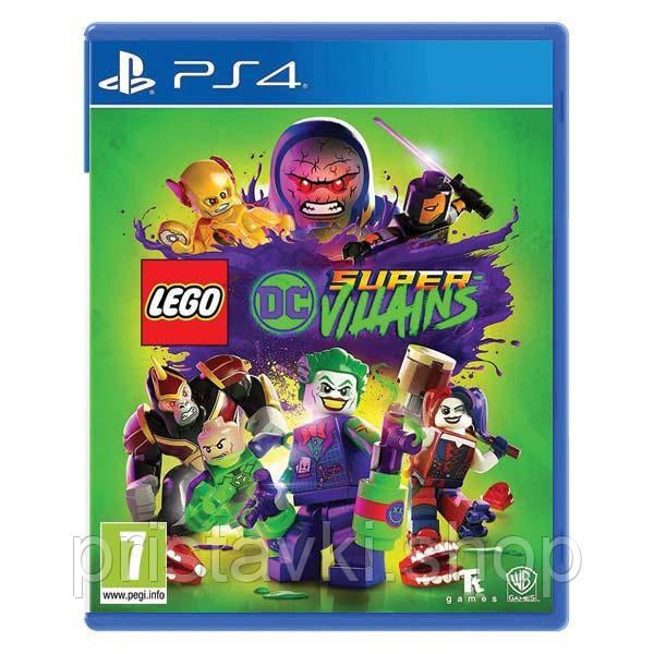 Lego DC Super Villains PS4 \ PS5