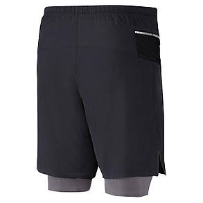 Шорты для бега Mizuno Endura 7.5 2in1 Short J2GB8528-09, фото 2