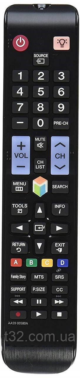 Пульт Samsung Smart LCD LED TV AA59-00580A  с подсветкой