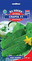 Огурец Спарта F1 сверхранний гибрид урожайный вкусный хрустящий ароматный без горечи, упаковка 10 шт