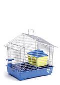 Клетка для мелких декоративных грызунов Джунгарик с домиком 30*20*24, хром