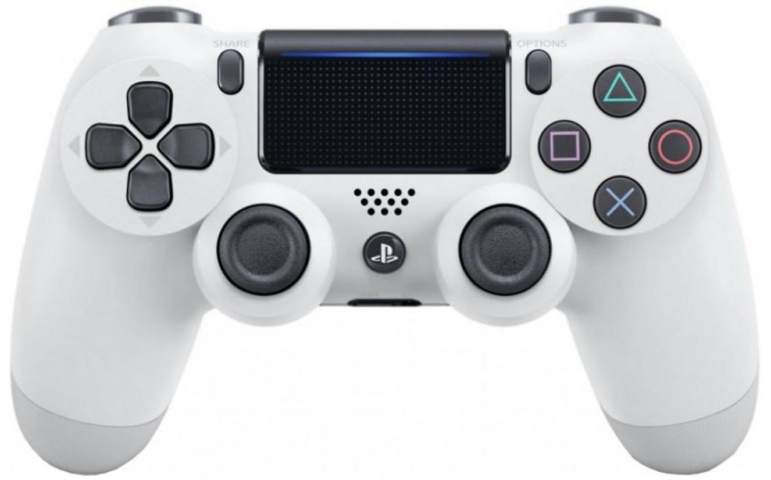 Геймпад джойстик беспроводной Sony PS4 Dualshock 4 V2 White. Оригинал