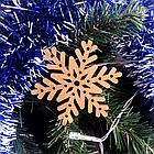"""Набор деревянных новогодних игрушек """"З НОВИМ РОКОМ!"""" 24 шт Набір дерев'яних новорічних іграшок З НОВИМ РОКОМ, фото 8"""
