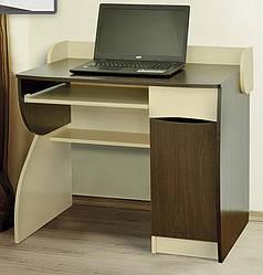 Компьютерный стол Летро Ронни тёмный венге.светлый венге
